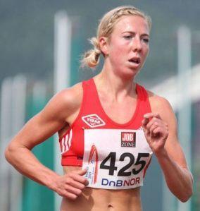 Kristin Steira, demuestra que también es una gran atleta. Foto: ski-nordique.net