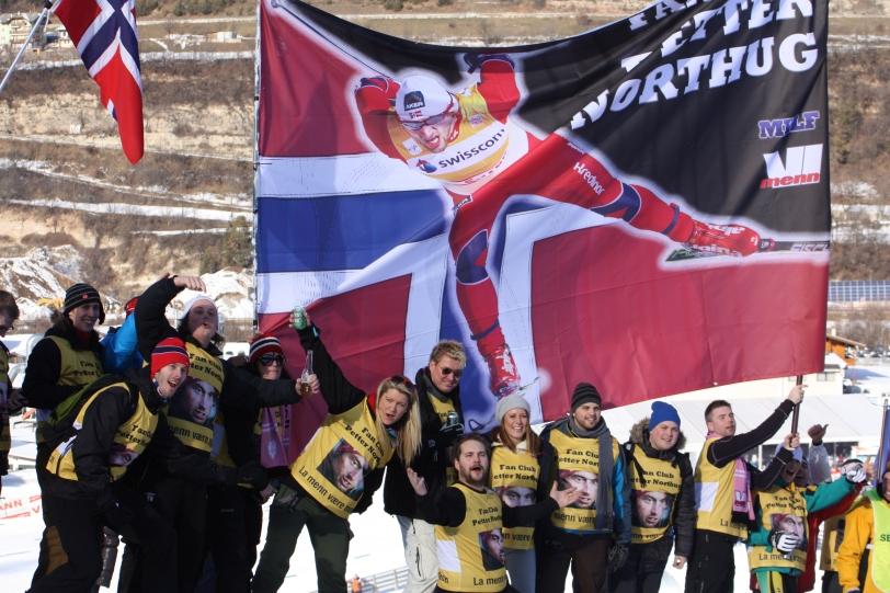 Tendremos que preparar una pancarta así para nuestros esquiadores. Foto: ESQUIBLOG.COM