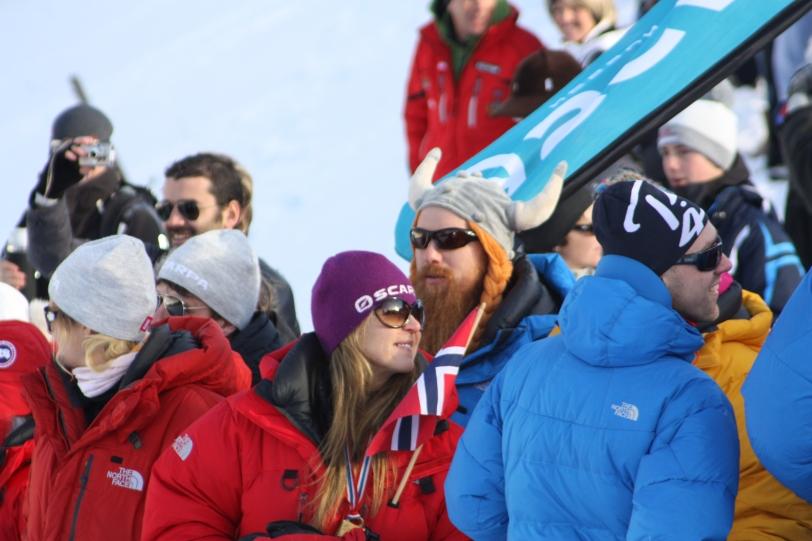 La invasión vikinga de las pistas de esquí. Foto: ESQUIBLOG.COM