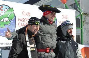 Foto del podium con Erkizia en lo más alto. Foto: CVC