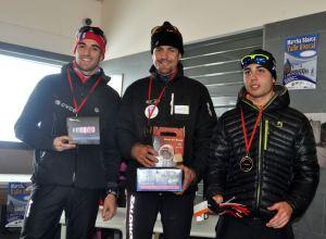 Josu, Baptiste y Jesús podium masculino. Foto: Rafa Elorza