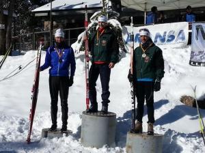 Podium de los Campeonatos de Larga distancia. Foto: Twitter @carlos_lannes